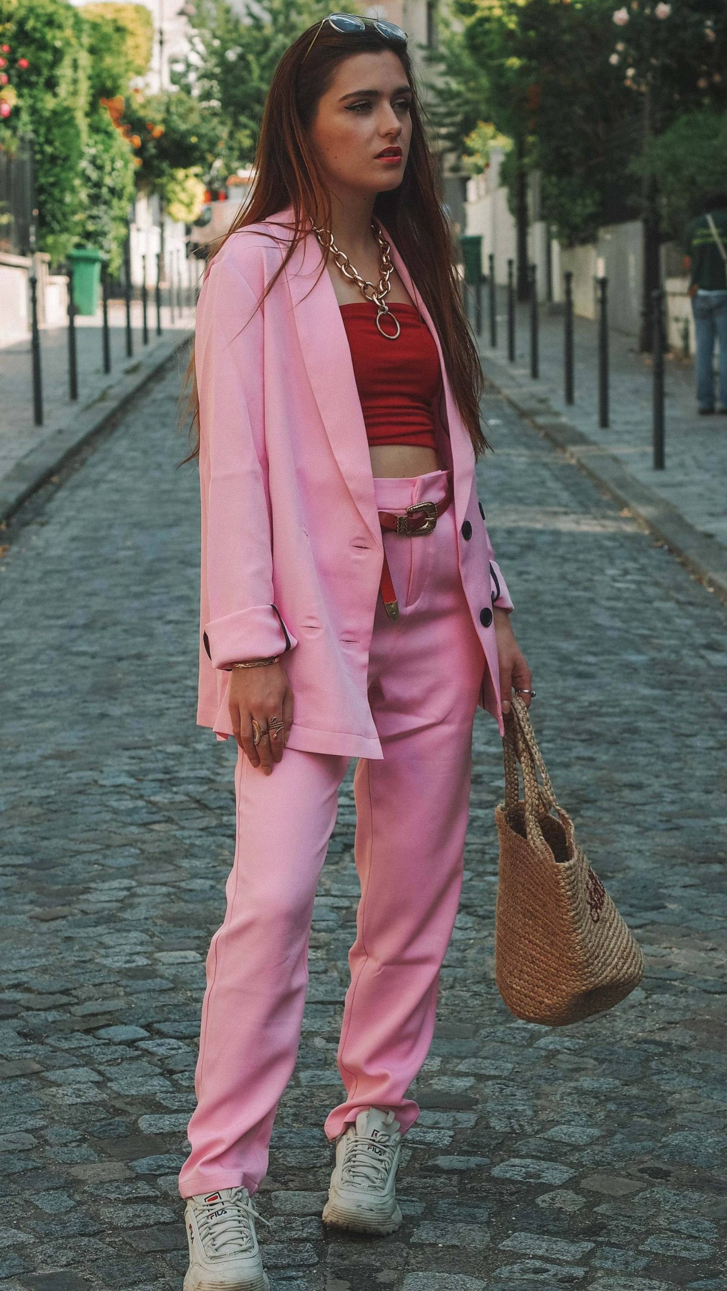 TENDANCE ROSE ROUGE